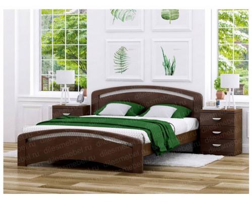 Кровать Белла из массива сосны