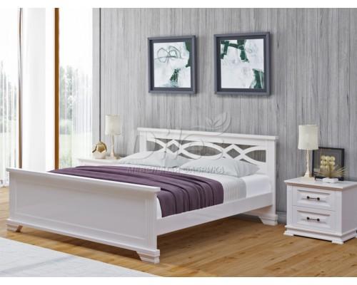 Кровать Лира из массива дуба