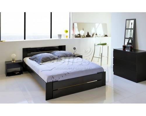 Кровать Модерн из массива сосны