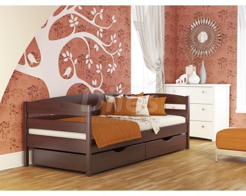 Кровать Нота плюс из массива сосны