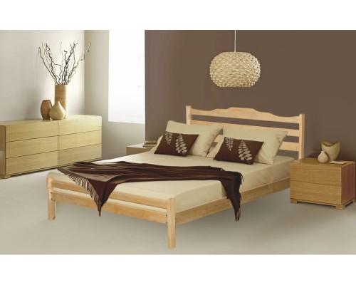 Кровать Лидер-1 из массива березы