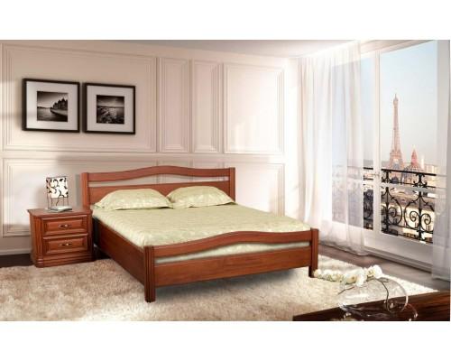 Кровать Руно-10  из массива бука