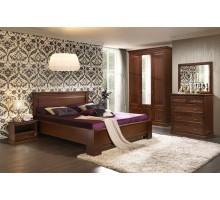 Кровать Нинель Ясень