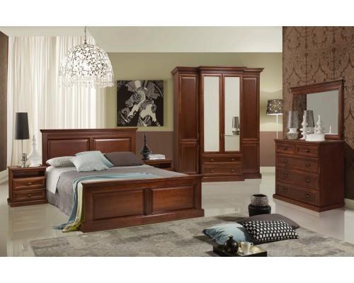 Кровать Олимпия из массива ясеня