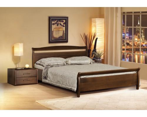 Кровать Руно-4 из массива бука