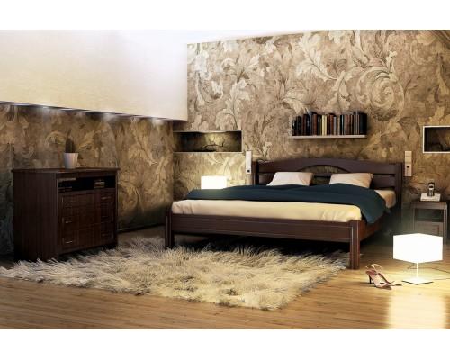 Спальня из массива дерева Валенсия