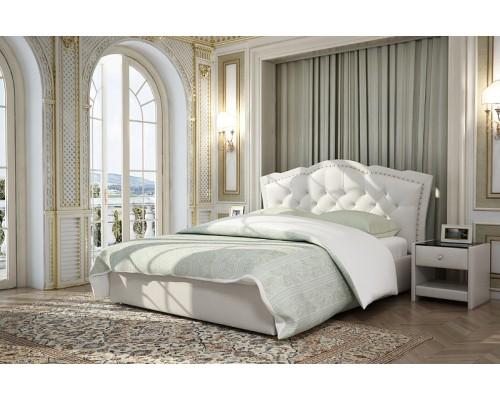 Интерьерная мягкая кровать Изабелла