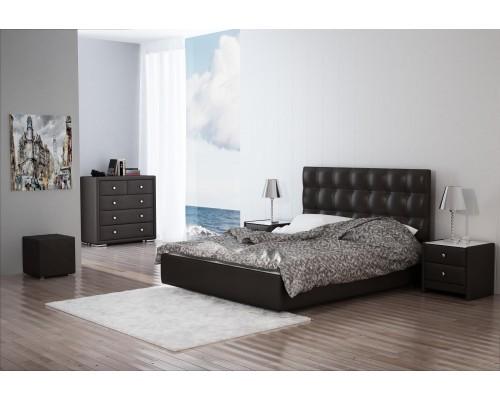 Мягкая интерьерная кровать Камила