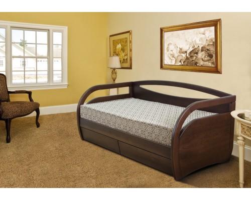Кровать Скай из массива бука