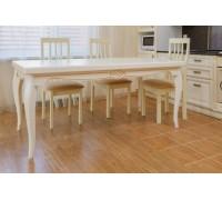 Обеденный малый раздвижной стол