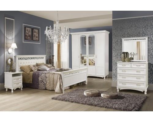 Кровать из массива бука Венеция