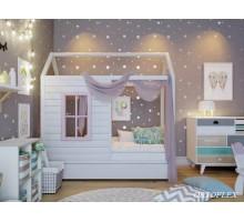 Кровать Домик-2 Сосна
