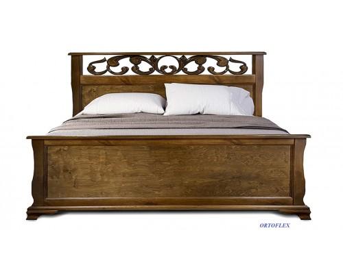Кровать Мадлен из массива сосны