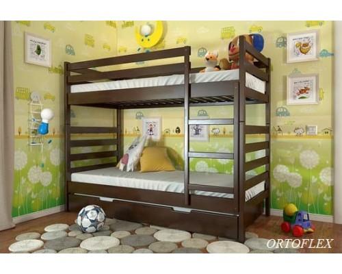 Кровать Рио плюс из массива сосны