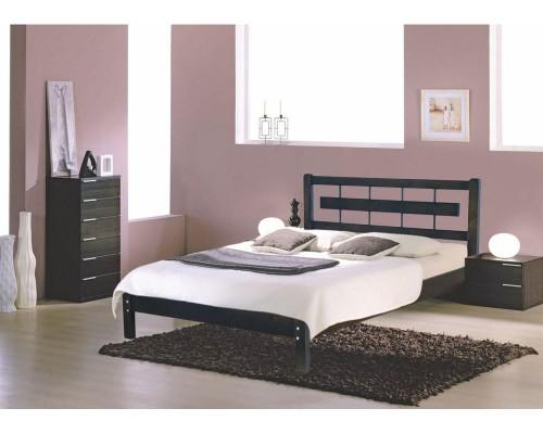 Кровать Алина из массива березы