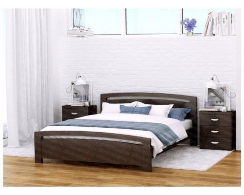 Кровать Бали из массива бука