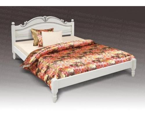 Кровать Мария 2 из массива сосны