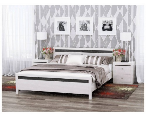 Кровать Николь из массива сосны