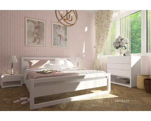 Кровать Браун из массива сосны