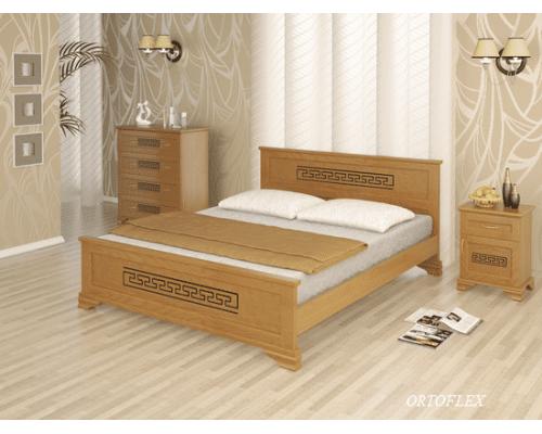 Кровать Фараон из массива сосны