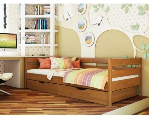 Кровать Нота из массива сосны