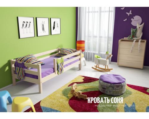 Кровать Соня из массива сосны