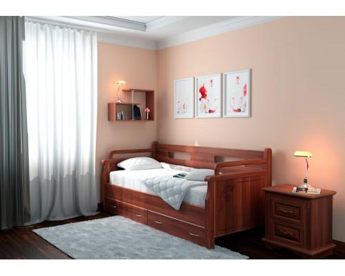Кровать из массива натурального дерева Тахта - Дрим 2