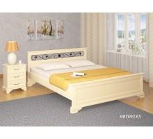Кровать Лира-В Ковка Сосна