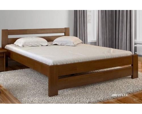 Кровать Муромлянка из массива сосны