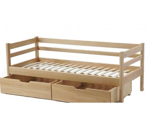 Кровать Ника-В из массива сосны