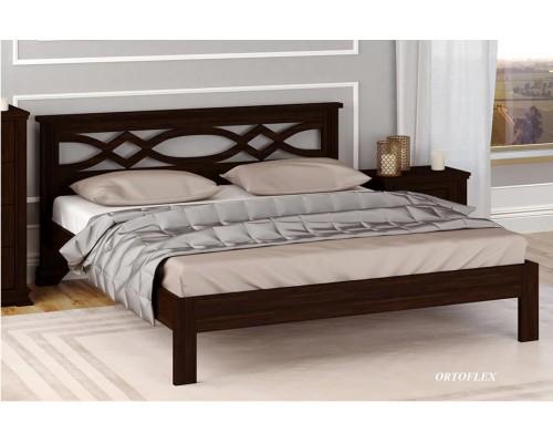 Кровать Марта из массива сосны