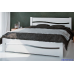 Кровать Волна-В из массива сосны