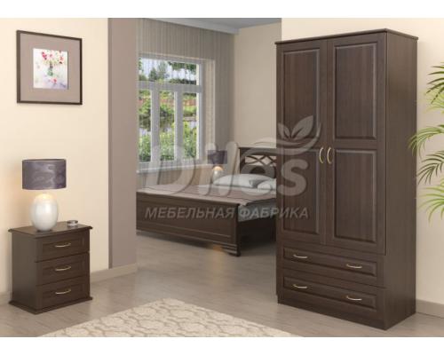 Спальня из массива сосны Мария