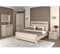Спальный гарнитур Лирона Сосна