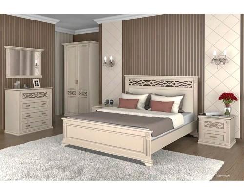 Спальня из массива сосны Лирона