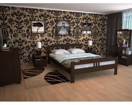 Спальня из массива дерева Бельфор