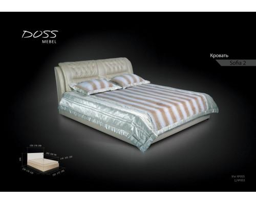 Мягкая кровать София-2