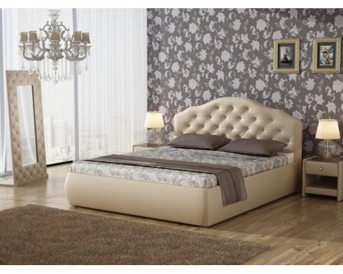 Мягкая интерьерная кровать Виктория